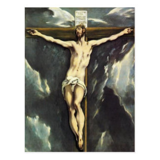 El Greco Christ On The Cross Postcard