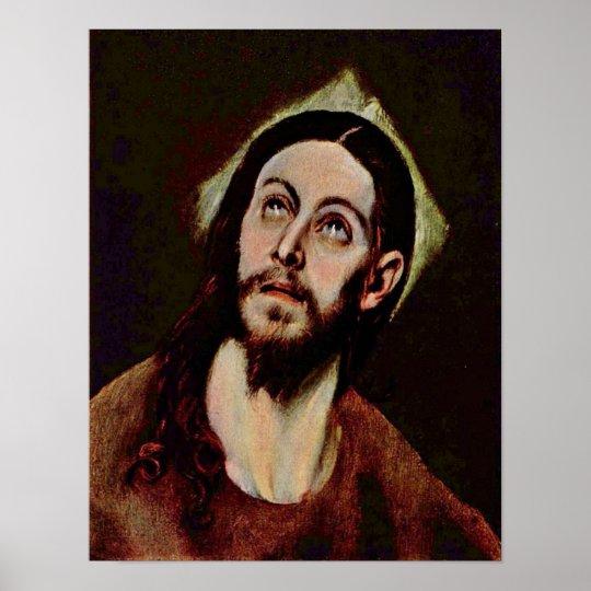 El Greco - Head of Christ Poster