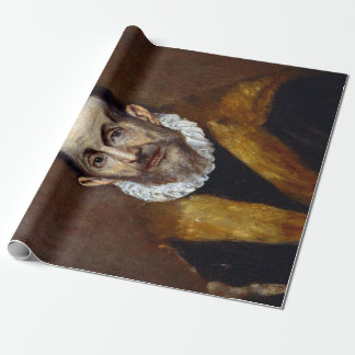 El Greco Portrait of an Old Man Wrapping Paper