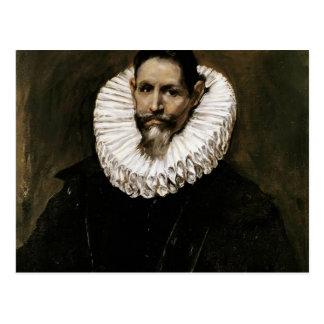 El Greco- Portrait of Jeronimo de Cevallos Postcard
