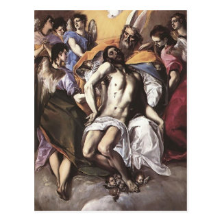 El Greco- The Holy Trinity Postcard