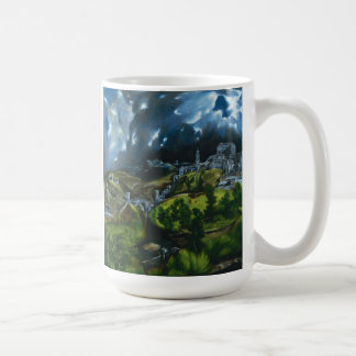 El Greco View of Toledo Coffee Mug