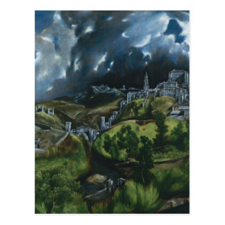 El Greco View of Toledo Postcard