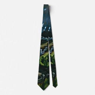 El Greco - View of Toledo Tie