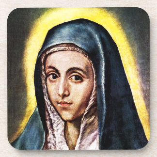 El Greco Virgin Mary Coasters