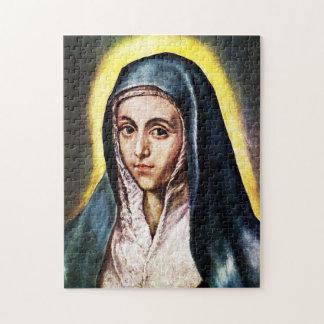 El Greco Virgin Mary Puzzle