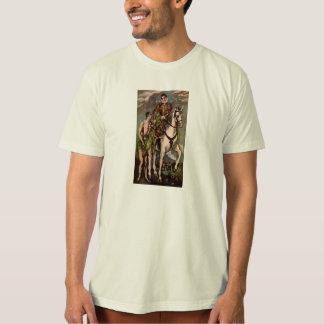 El Greco's Saint Martin and the Beggar, circa 1600 T-Shirt