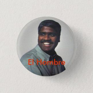 El Hombre 1 Inch Round Button