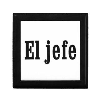 "El jefe ""The Boss"" Gift Box"