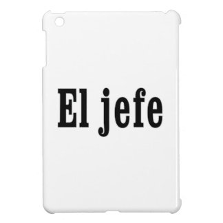 "El jefe ""The Boss"" iPad Mini Covers"