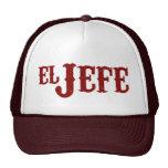 El Jefe Translation The Boss Trucker Hat