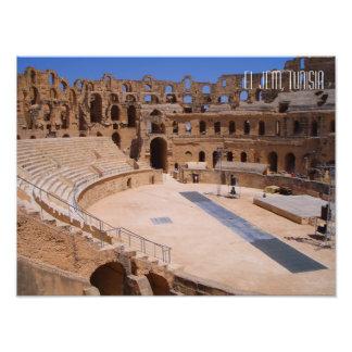 El Jem Colosseum Amphitheatre Tunisia Photo Print