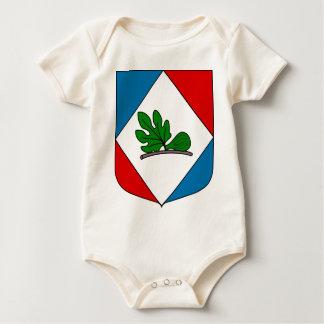 El_Kerma_Coat_of_Arms_(French_Algeria) Baby Bodysuit