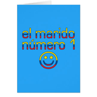 El Marido Número 1 - Number 1 Husband Ecuadorian Note Card