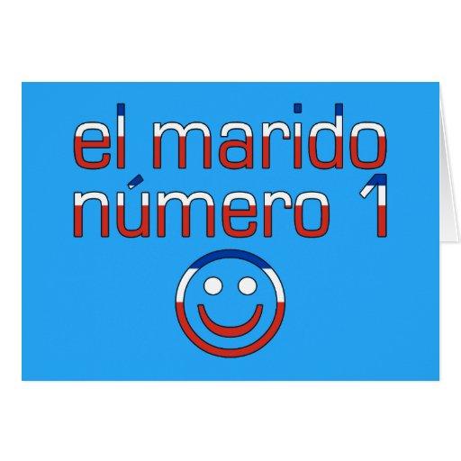 El Marido Número 1 - Number 1 Husband in Chilean Greeting Card