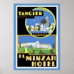El Minzah Hotel, Tangiers Poster