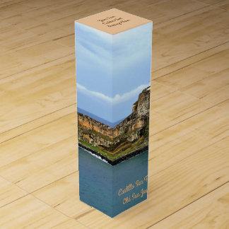 El Morro Guarding San Juan Bay Custom Wine Box