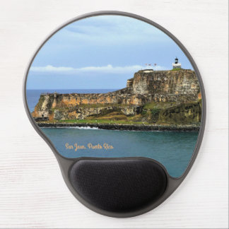 El Morro Guarding San Juan Bay Entrance Gel Mouse Pad