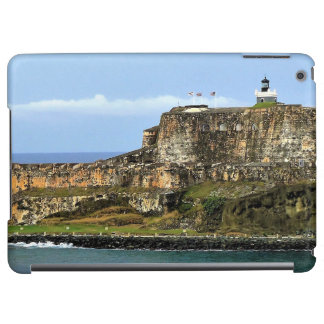 El Morro Guarding San Juan Bay Entrance iPad Air Cases