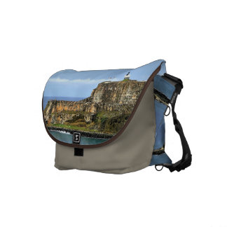 El Morro Guarding San Juan Bay Entrance Messenger Bag