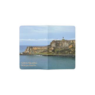 El Morro Guarding San Juan Bay Entrance Pocket Moleskine Notebook