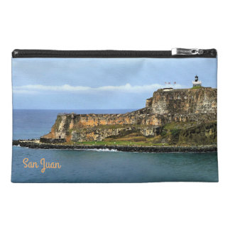 El Morro Guarding San Juan Bay Entrance Travel Accessory Bag