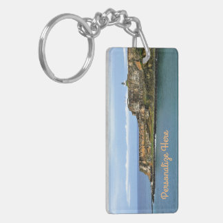 El Morro Guarding San Juan Bay Personalized Keychain