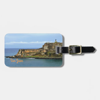 El Morro Guarding San Juan Bay Personalized Luggage Tag