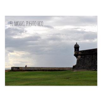El Morro Lovers Puerto Rico Postcard