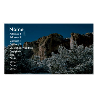 El Morro National Monument Business Card