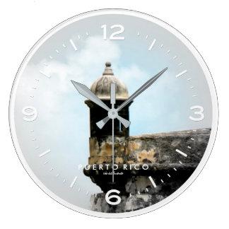 El Morro, Puerto Rico Large Clock