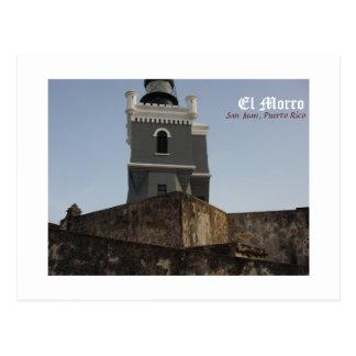 El Morro San Juan Puerto Rico Post Card