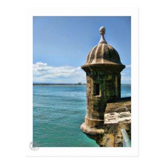 El Morro Tower Postcard