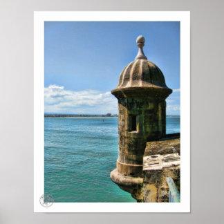 El Morro Tower Poster