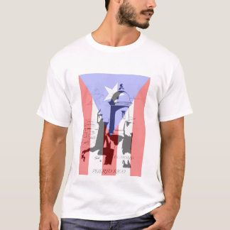 El Morro y bandera, T-Shirt