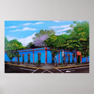 EL Museo Azul Poster