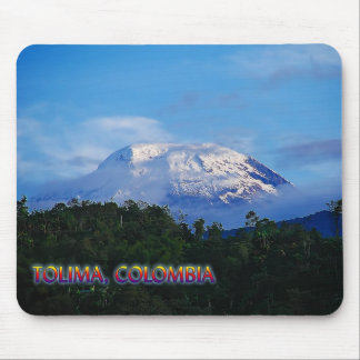 El Nevado del Tolima Colombia Travel Mouse Pad