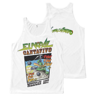 El Nopal Cantavivo All-Over Printed Unisex Tank