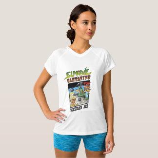 El Nopal Cantavivo Double-Dry V-Neck T-Shirt