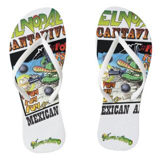 El Nopal Cantavivo Pair of Flip-Flops Flip Flops