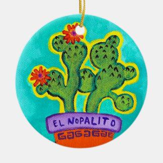 El Nopalito Ceramic Ornament