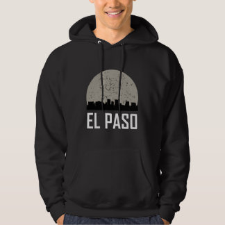 El Paso Full Moon Skyline Hoodie