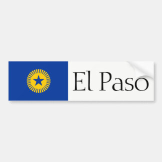 El Paso proposed flag bumper sticker
