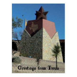 El Paso Texas Postcard