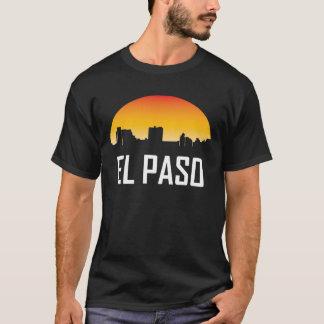 El Paso Texas Sunset Skyline T-Shirt