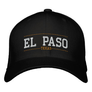 El Paso Texas USA Embroidered Hats