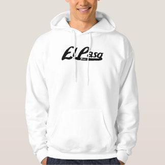 El Paso Texas Vintage Logo Hoodie