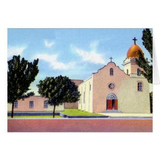 El Paso Texas Ysleta Mission Card