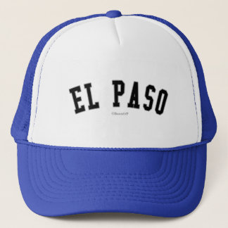 El Paso Trucker Hat