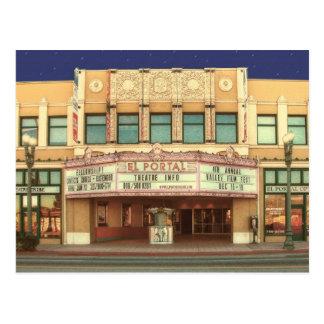 El Portel theater Postcard
